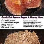Slow Cooker Brown Sugar Honey Ham Recipe