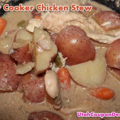 Slow Cooker Chicken Stew with Red Potatoes Recipe