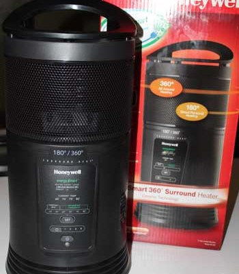 GIVEAWAY: Honeywell EnergySmart Surround Ceramic Heater