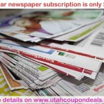 Utah Newspaper Subscription only $0.38 per week! (you can afford it!)