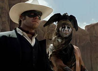 The Lone Ranger Trailer (with Johnny Depp and Armie Hammer)