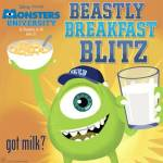 "Play the ""Beastly Breakfast Blitz"" Monsters University Game"