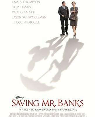 ~New~ Disney's Saving Mr. Banks Poster