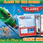 Disney's Planes Race to the Finish Activity Set