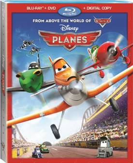 Disney's PLANES Movie Review + DVD release today!