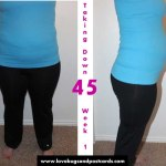 Taking Down 45 – My Weight Loss Journey Week 1