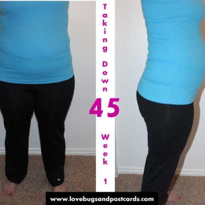 Taking Down 45 – My Weight Loss Journey Week 2