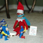 Elf on the Shelf Ideas – Super Hero Elf