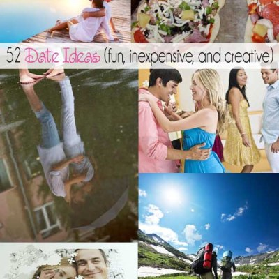 52 Date Ideas {fun, inexpensive, and creative}