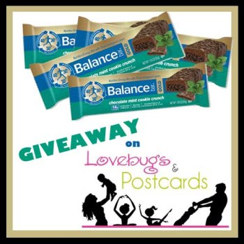 Mint Chocolate Balance Bars Giveaway