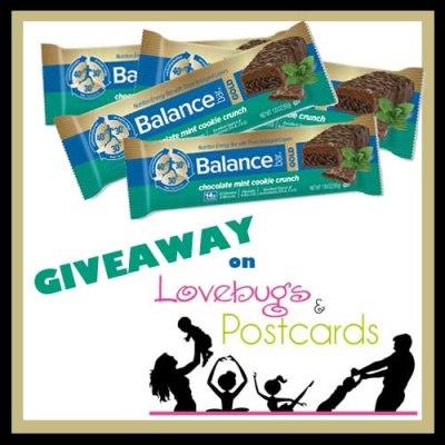 Chocolate Mint @BalanceBar Giveaway {win a box of Balance Bars}  (ends 2/24)