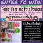 GIVEAWAY: Prize Pack from Petals, Pens and Pots Boutique