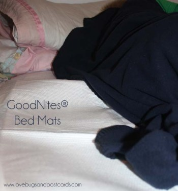 GoodNites® Bed Mats - Lights Out Routine