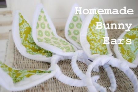 Homemade Bunny Ears for Easter