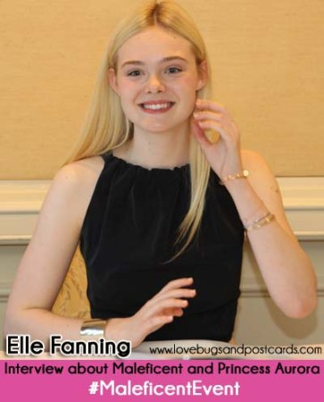 Elle Fanning Interview about Maleficent #MaleficentEvent