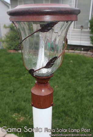Gama Sonic Flora Solar Yard Light Review