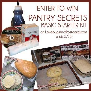 Pantry Secrets Basic Starter Kit Giveaway