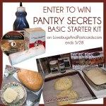 GIVEAWAY: Pantry Secrets Basic Starter Kit (ends 5/28)