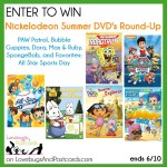 GIVEAWAY! Nickelodeon Summer DVD Round-Up {PAW Patrol, Bubble Guppies, Dora, Max & Ruby, SpongeBob} ends 6/10