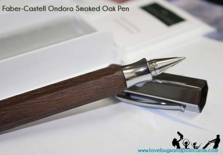 Faber-Castell Ondoro Smoked Oak Pen Review