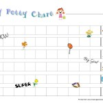Girls Printable Potty Chart