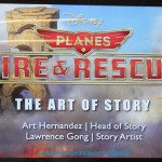 Planes: Fire and Rescue – The Art of Story {and learning to draw dipper} #FireAndRescueEvent
