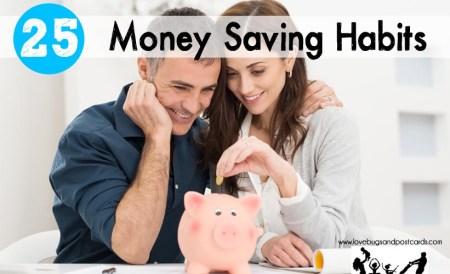 Money Saving Habits