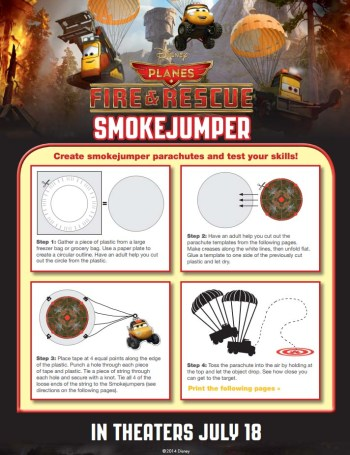 Planes: Fire and Rescue SmokeJumper Birthday Party Game
