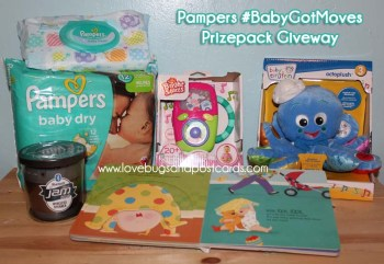 Pampers #BabyGotMoves Giveaway