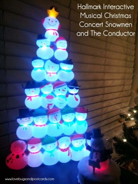 Hallmark Interactive Musical Christmas Concert Snowmen and The Conductor