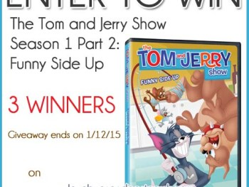 """The Tom and Jerry Show Season 1 Part 2: Funny Side Up"""" DVD"""