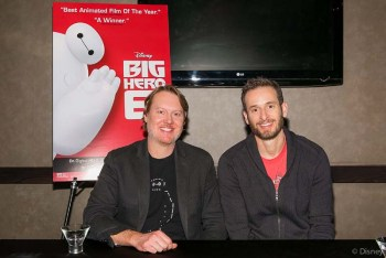 Interview with Big Hero 6 Directors Don Hall and Chris Williams