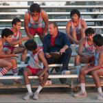 Still of Kevin Costner, Carlos Pratts, Johnny Ortiz, Hector Duran, Rafael Martinez and Sergio Avelar in McFarland, USA (2015) - © 2014 - Walt Disney Studios