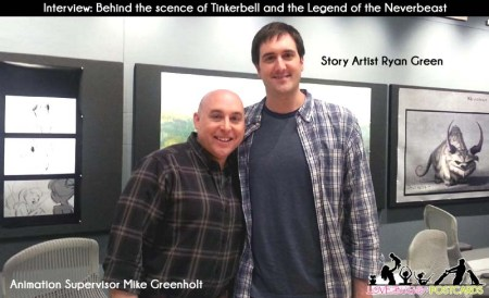 Animating Gruff with Story Artist Ryan Green & Animation Supervisor Mike Greenholt #NeverbeastBloggers