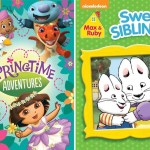 Nickelodeon's Max & Ruby: Sweet Siblings & Springtime Adventures on DVD today!