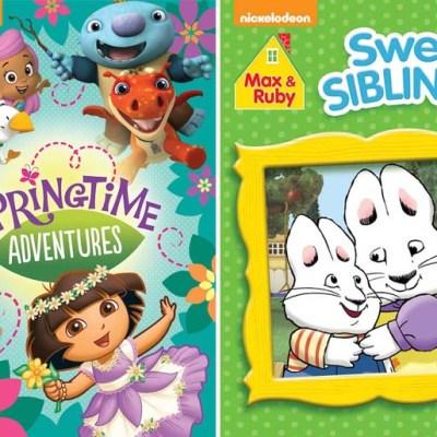 Nickelodeon's Max & Ruby: Sweet Siblings & Springtime Adventures on DVD today!
