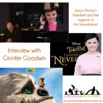Ginnifer Goodwin interview about Fawn in Tinkerbell and the Legend of the Neverbeast #NeverbeastBloggers