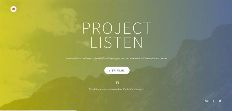 #ProjectListen