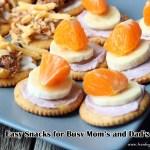 3 easy and fun snack ideas for busy moms #PutItOnARitz