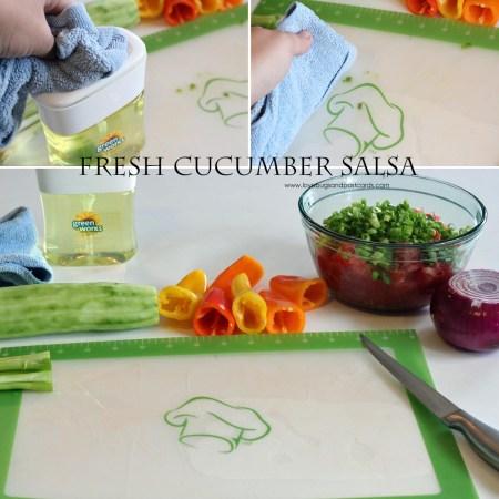 Fresh Cucumber Salsa Recipe