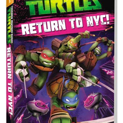 Teenage Mutant Ninja Turtles: Return to NYC! on DVD today!