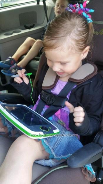 LeapPad Platinum & LeapFrog Imagicard Review