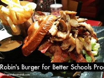 Red Robin's Burger for Better Schools Program