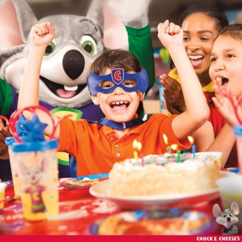 5 reasons we love Chuck E. Cheese for Birthday Fun!