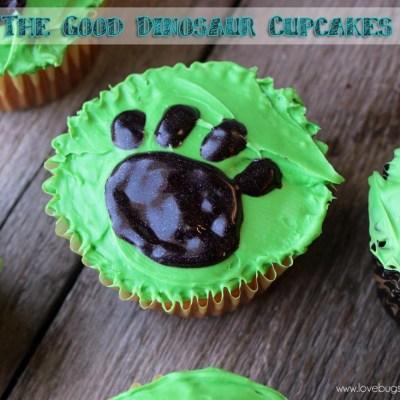 Disney-Pixar's The Good Dinosaur Cupcakes