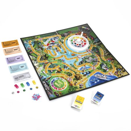Family Game Night: The Game of Life game by Hasbro