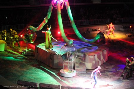 Marvel Universe LIVE! Show review (Salt Lake City, Utah)