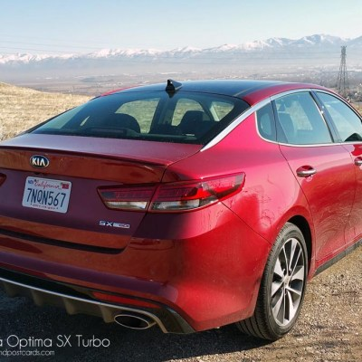 2016 Kia Optima SX Turbo Review