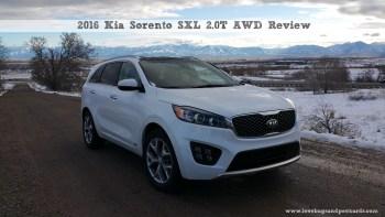 2016 Kia Sorento SXL 2.0T AWD Review
