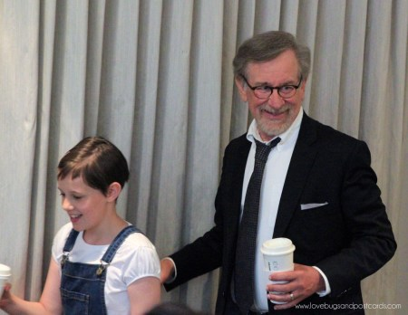 Interview with Steven Spielberg and Ruby Barnhill for Disney's The BFG movie #TheBFGEvent